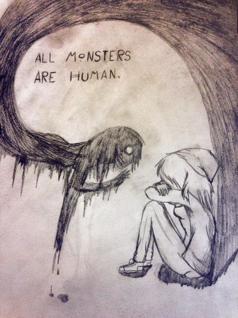 All Humans Are Monsters