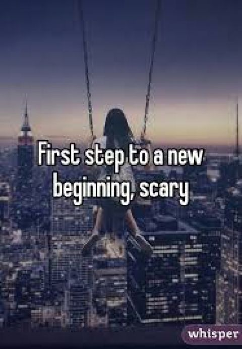Scary first step