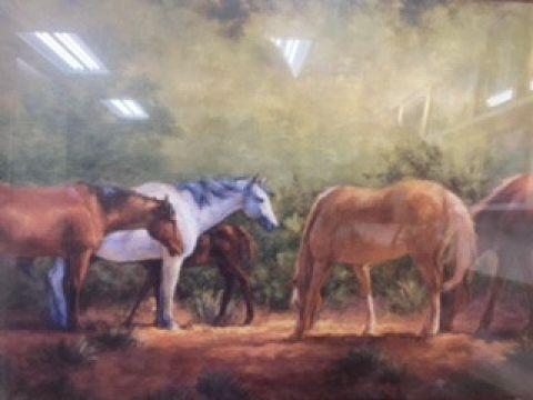 Home safe found horse 🐴 print!