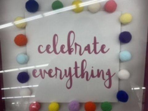 Celebrating……